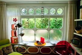 窓,丸窓,雰囲気